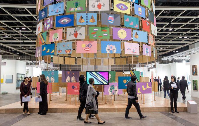 第五届巴塞尔艺术展香港展会Art Basel in Hong Kong 2017 | SJL三角铃