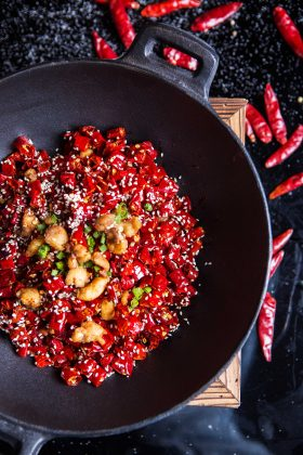 Sichuan Peppery Chicken 辣子鸡