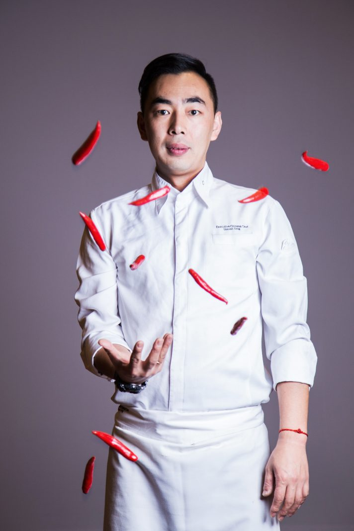 Chef Steven from Hilton Chengdu