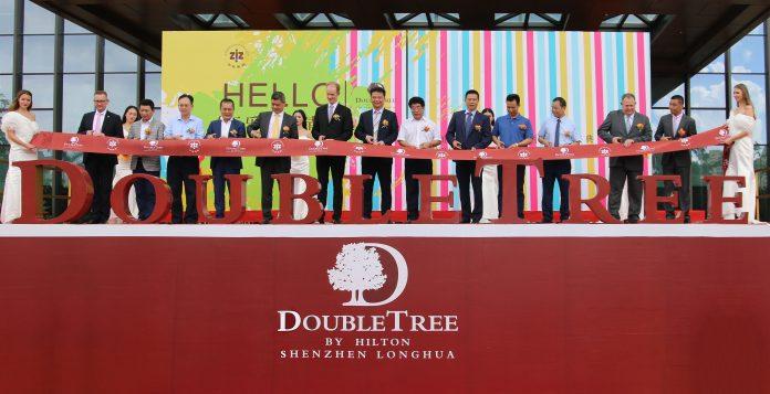 DoubleTree by Hilton Shenzhen Longhua in the Transportation Hub of Shenzhen
