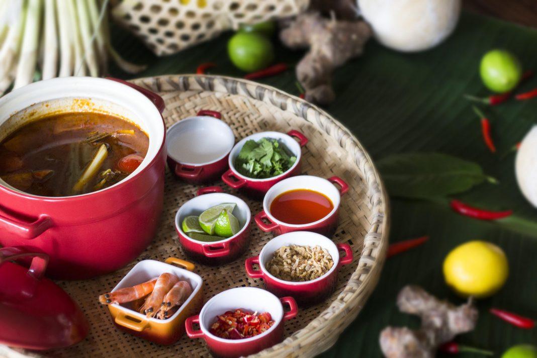 Tom Yam Kong Soup 泰式冬阴功