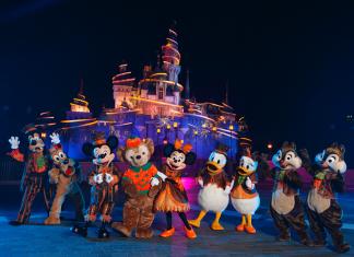 Halloween at Disneyland HK