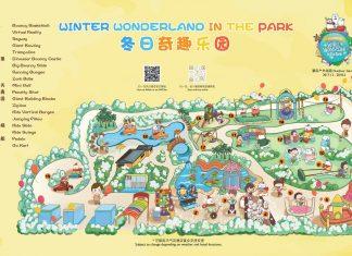 Winter Wonderland in the Park