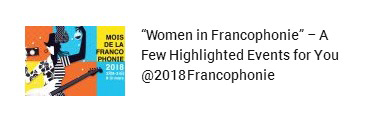 Read More About 2018 Franchophone