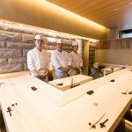 大厨宫川师傅的厨师团队 | Master Chef Masaaki Miyakawa's culinary team
