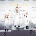The Podium of 2018 Bocuse d'Or Asia Pacific
