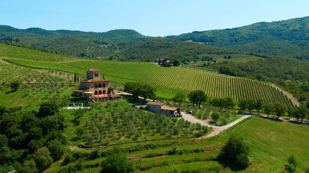 奥伯拉古堡酒庄,齐安迪,意大利   Castello d'Albola, Chianti, Italy