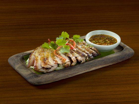 Grilled Pork Neck Fillet