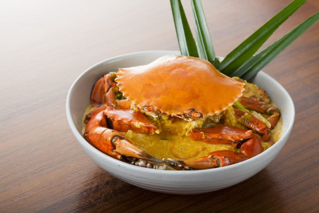 Yellow Curry Crab