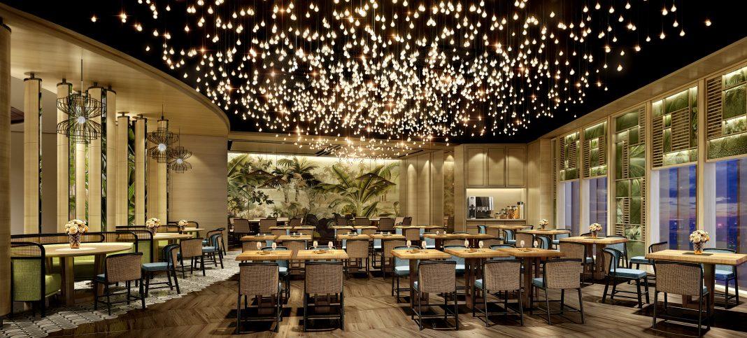 Dining area at Mango Tree   Photo provided by Mango Tree