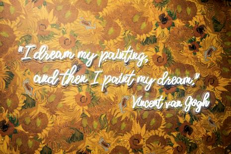 向日葵墙 | Sunflowers Wall