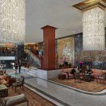 Hotel lobby, Mandarin Oriental, Hong Kong