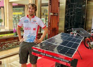 Jack Butler, Sun Trip rider