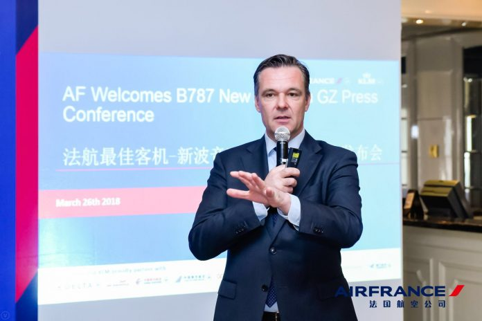 Toon Balm, General Manager of Air France KLM, Greater China