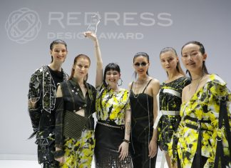 Australian designer Tess Whitfort as Redress Design Award 2018 First Prize Winner