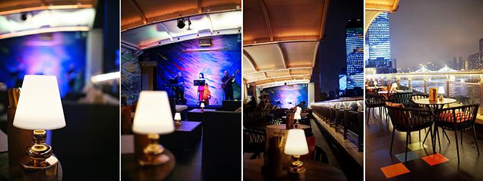 在Bar 5享受一个暖暖的,美美的夜晚   Enjoy a pleasant night at Bar 5