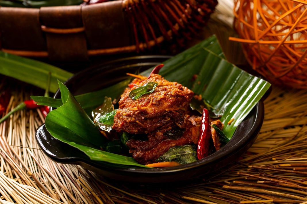 Traditional Malaysian Chicken Rendang