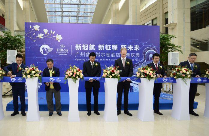 希尔顿进一步扩张在穗布局,广州翡翠希尔顿酒店正式开业 | Hilton Expands Presence in Guangzhou with Hilton Guangzhou Science City Opening