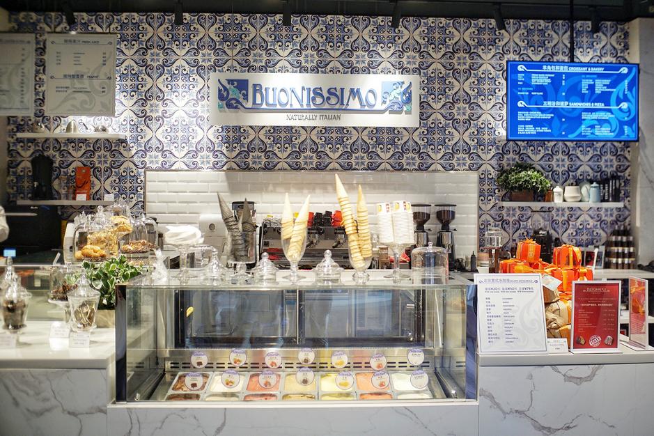 Buonissimo提供多种意式冰淇淋口味 | Buonissimo provides carious gelato flavours