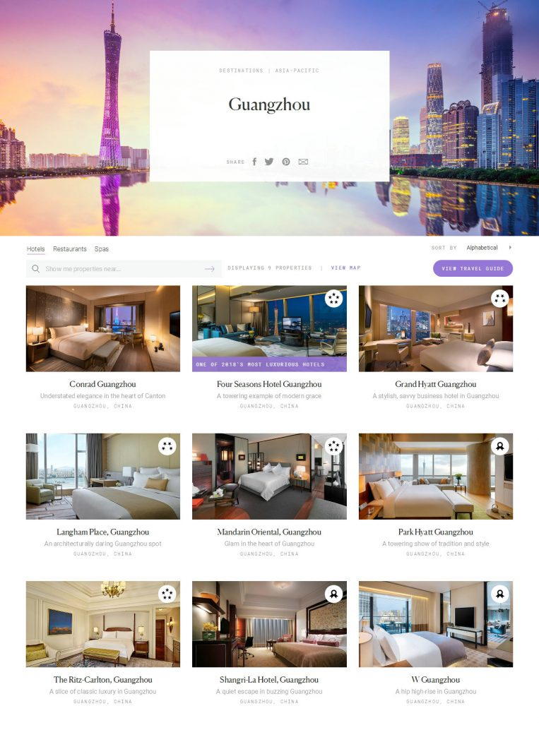 Guangzhou Luxury Hotels - Forbes Travel Guide