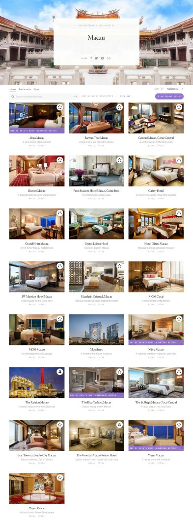 Macau Luxury Hotels - Forbes Travel Guide