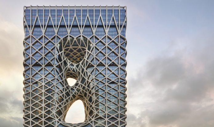 "新濠天地之摩珀斯荣获""2019年度建筑大奖——服务建筑类"" | Morpheus at City of Dreams Macau wins 2019 Building of the Year Award, Hospitality Architecture Category"