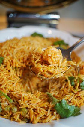 海鲜饭 | Arroz con Mariscos, seafood rice