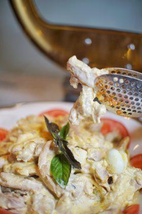 秘鲁黄辣椒鸡 | Aji de Gallina, chicken with Peruvian yellow chili sauce