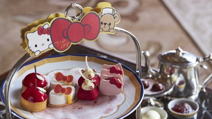 Hello Kitty Culinary Adventure Afternoon Tea - Exquisite Desserts