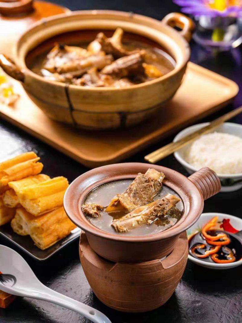 肉骨茶   Bak Kut Teh (Pork Rib Soup)