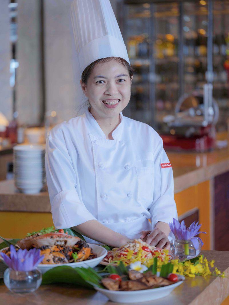 此次客座羊城的主厨 Jennifer Yeo 成长于文化多样和民族融合的新加坡   Guest chef Jennifer Yeo