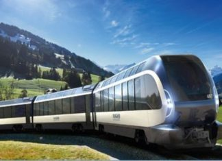 "走出大湾区:到瑞士乘坐全景观列车""Goldenpass Express"" 
