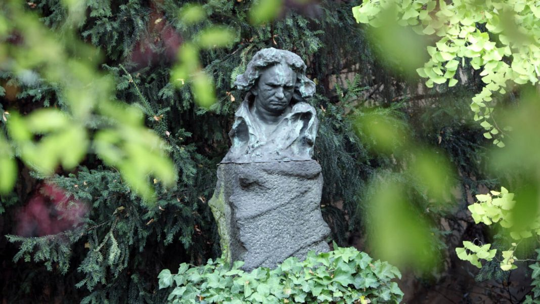 Bonn: bust in the garden of the Beethoven-Hauses.  ©Beethoven Jubiläums Gesellschaft mbH (Sonja Werner)