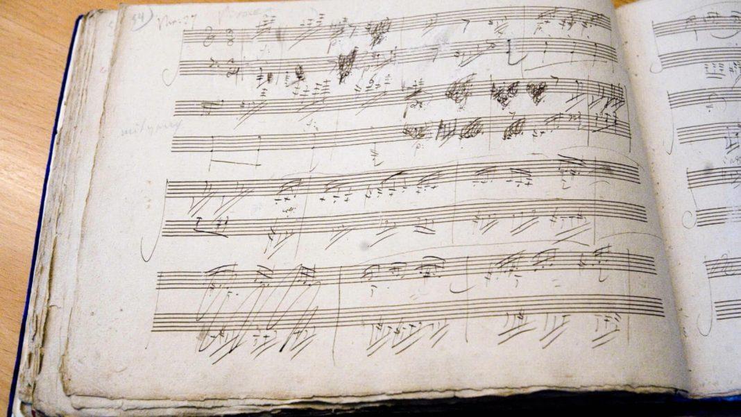 Bonn: Beethoven's menuscript.  ©Beethoven Jubiläums Gesellschaft mbH (Michael Sondermann)