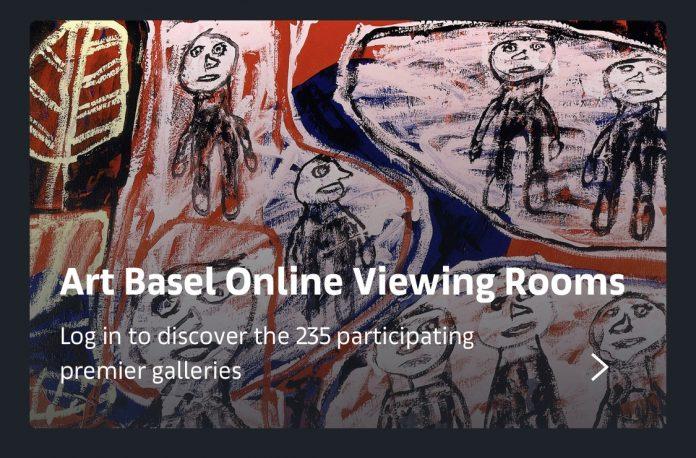 展览信息:香港巴塞尔艺术展开放网上展厅 | Exhibition Info: Art Basel's Online Viewing Rooms