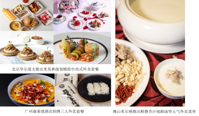 希尔顿旗下60余家酒店推出外卖服务 | Over Sixty Hilton Hotels in China Provide Food Delivery Service