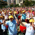 樂團與三千多名香港市民在全港市民見證下於香港鼓樂節開幕式齊奏一曲《雷霆萬鈞》,鼓動香港市民在非典型肺炎疫症後的激勵鬥志。