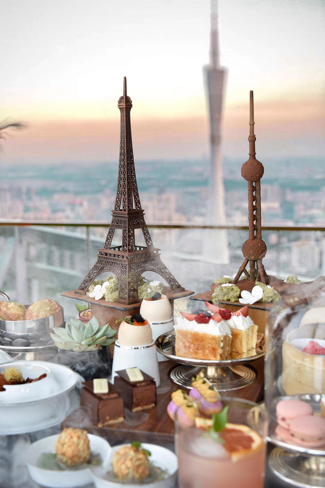 云游:东西方浪漫之都的云端午会 | Wanderlust: Park Hyatt Guangzhou Presents Shanghai Meets Paris Themed Afternoon Tea