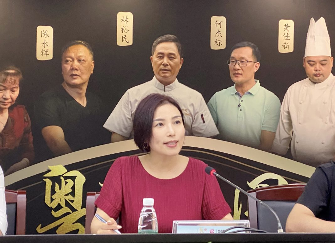 深圳广电集团编委,卫视中心党委书记、执行总监张峥 | Ms. Zhang Zheng, Party Committee Secretary and Executive Director of Shenzhen Media Group