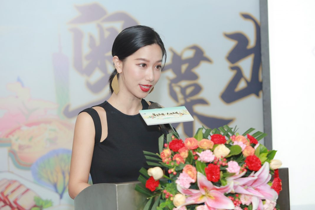 "《粤菜大师》美味搜索官李如儒担任开播仪式主持人 | ""Cantonese Cuisine Master"" Search Specialist Li Ruru hosted the opening ceremony"