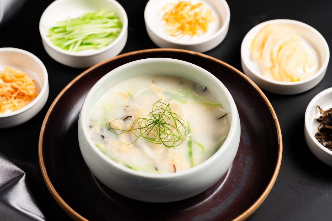 柠香黄鱼花胶羹 | Lemon Infused Yellow Croaker and Fish Maw Thick Soup