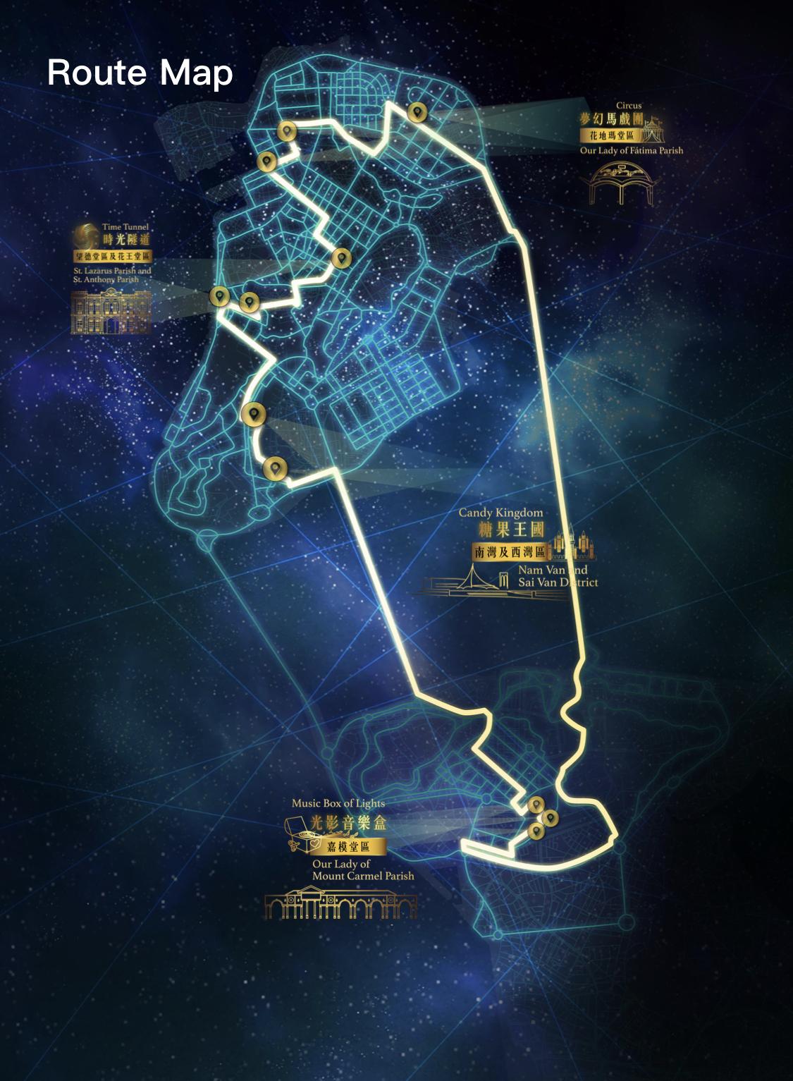 线路图 | Route Map