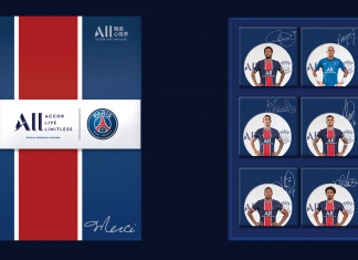 雅高心悦界X巴黎圣日耳曼足球俱乐部独家定制联名月饼礼盒 | Accor Live Limitless X Paris Saint Germain Unveiled Mooncake Gift Box
