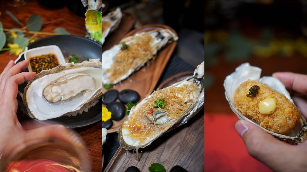 多种生蚝吃法 | Oysters served in different styles