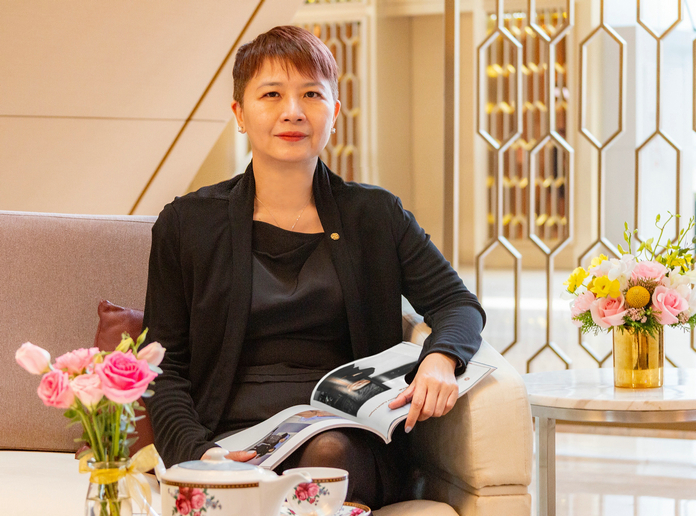 新任:郭以安出任广州南丰朗豪酒店酒店总经理 | May Kwok Appointed As General Manager of Langham Place, Guangzhou