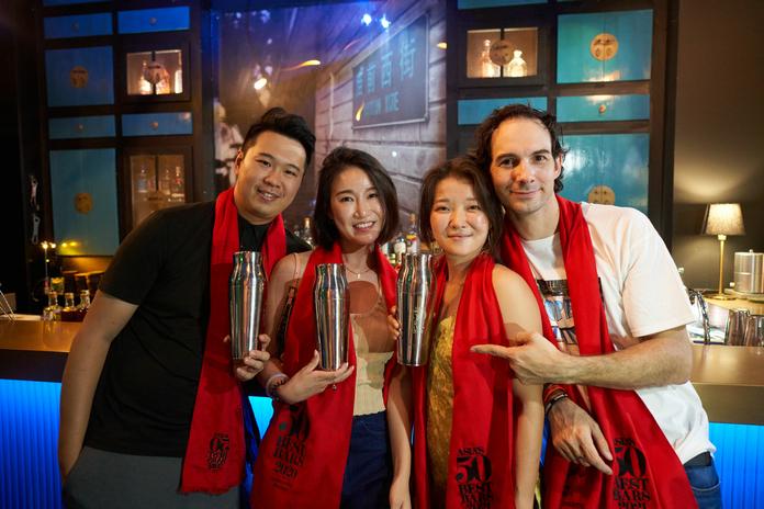 广州庙前冰室酒吧连续三年入围亚洲50最佳酒吧 | Hope & Sesame