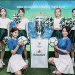 喜力®啤酒携手欧洲冠军联赛冠军奖杯亮相广州 | UEFA Champions League Trophy Tour Presented By Heineken Comes to Guangzhou