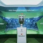 喜力®啤酒携手欧洲冠军联赛冠军奖杯首次亮相广州 | UEFA Champions League Trophy Tour Presented By Heineken Comes to Guangzhou
