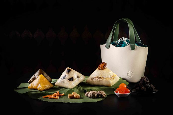 新葡京酒店米其林三星中菜食府 8 餐厅推出传统巧制端午粽 | Grand Lisboa's Michelin Three-Starred Chinese Restaurant The 8 Presents Traditional Rice dumplings in Stylish Tote Bag